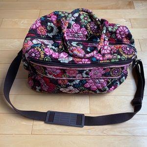 Vera Bradley Mod Floral Pink Duffel Bag